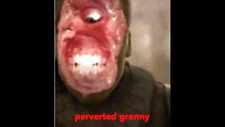 Pervert granny rim