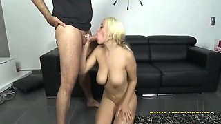 LATINA MILF LOVES TO SWALLOW