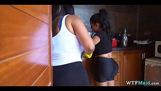 2 big spanish maids