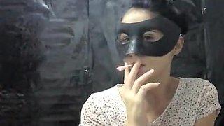 Amazing amateur Smoking, Fetish xxx video