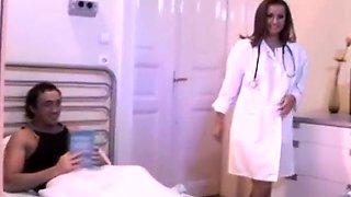 Hungarian nurse get double penetration
