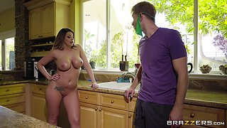 Brooklyn Chase is a curvy babe who wants to feel a dick