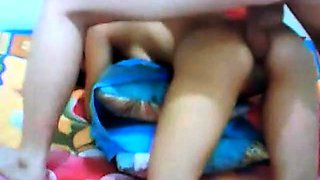 Indo girl tries anal