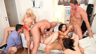 Linet Slag - Bachelor Party Orgy 5