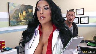 Gorgeous&horny Hispanic Doc