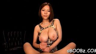 Goluptious girlfriend Ruri Saijo enjoys extreme sex