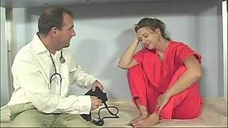 Goddess Brianna Beach Goes Hardcore With A Dirty Doctor In Prison