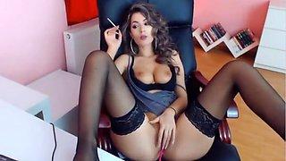 Sexy Girl Smoking