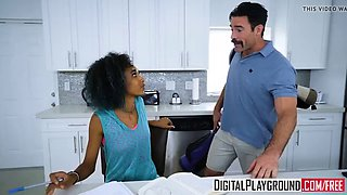xxx porn video - milk and cookies riley king and charles der
