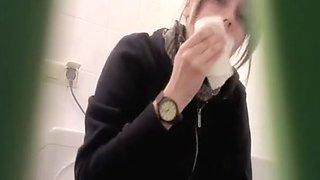 Teen secretly filmed in toilet peeing