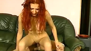 redheaded bitch forced to fuck