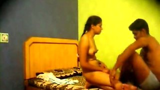 Rare homemade video of authentic Indian couple having sex