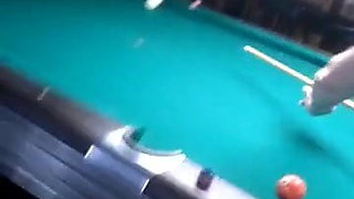 Shooting a little pool in a Pub