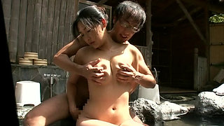 Happening Blowjob In Japanese Onsen Spa