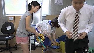 Neighborhood Japanese Housewife getting fucked