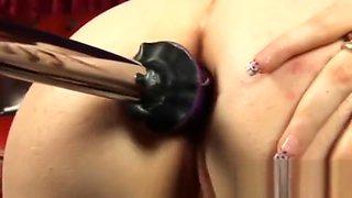 Pawg anal machine