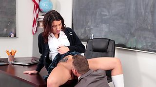 Amazing scenes of wild school sex with Sophia Grace