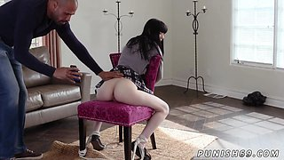 Asian slut schoolgirl gets tied up and abused by an well endowed stud