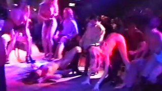 British 90s glamour models lap dancing