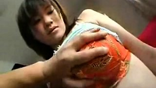 cute japanese teengirl whith milky tits