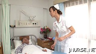 Cock sucking nurse in pov scenes