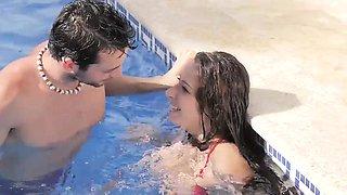 Babes - Elegant Anal - Fun Pool starring Joel