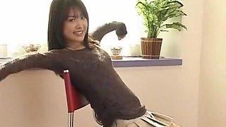 Amazing Japanese chick in Fabulous Masturbation, Fingering JAV movie