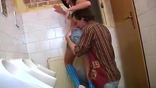 Debbie Torn Up In Public Toilet