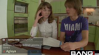 BANG.com: Russian Schoolgirls Ride A Big Cock