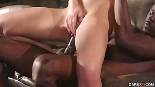 Jelous alina lopez got her pussy romp by a black monster cock
