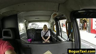 Facialized taxi brit fucked ontop car bonnet