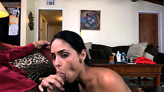 Skinny young maid is a slut