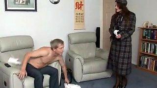 Fabulous amateur European, Brunette sex clip