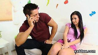 Medic gazes hymen examination and virgin kitten pounding08NJ
