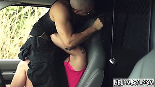 Piss slave toilet He throws her in the back of the van