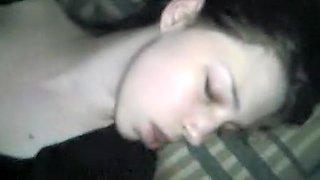 Cute Sleeping Teen Girl Gets Abused By