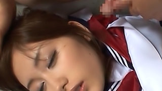 Chika Eiro gets cum on her face