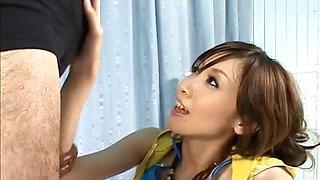 Yui Natsuki receives a creampie Free