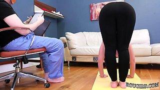 Mixed wrestling domination humiliation Ass-Slave Yoga