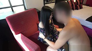 Thai girl provides sexual services for Japan guy