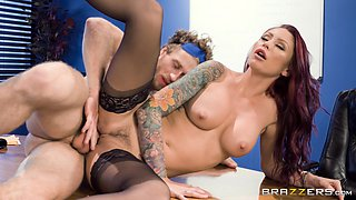 Gorgeous boss Monique Alexander has the perfect way of motivating