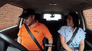 Fake Driving School Candi Kayne returns