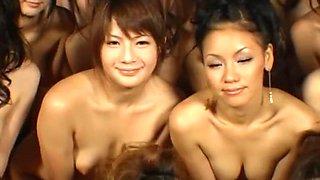 Horny Japanese chick Kurara Iijima, Minaki Saotome, Aya Sakuraba in Exotic Handjobs, Hardcore JAV video