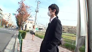 Best Japanese slut Haruki Sato in Incredible Masturbation/Onanii, Public JAV movie