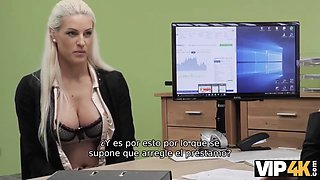 Vip4k. special casting is passed by blonde and she gets cred
