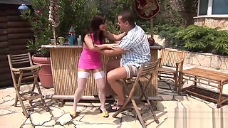 Jenny Baby Gets Screwed By The Pool