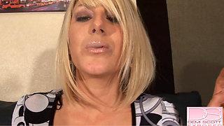 demi scott - Demi Sexy Smoking high