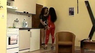 Horny homemade Spanking, BDSM porn movie