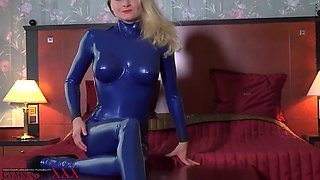 Tanya blue latex