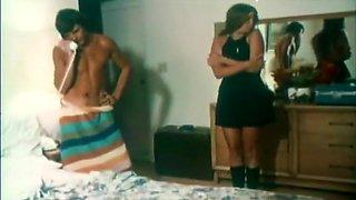 Hottest pornstar in crazy straight, vintage adult video